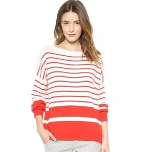 Vince cashmere Slouched Striped Sweater size S
